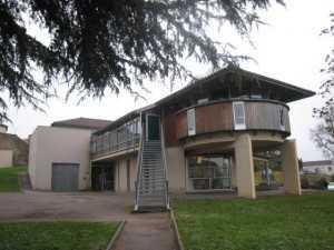 Bâtiment ALSH- vue de la bibliothèque