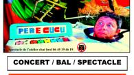 A partir de 14h30 à la Ferme St-Michel à Confolens, le Père Cucu vous propose un concert/bal/spectacle pour Halloween. Une tenue de bal déguisée s'impose! Pour grands et petits, ouvert […]