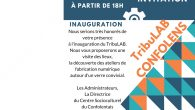 Vendredi 13 octobre, le CSC inaugure son espace de «fabrication numérique» (Fablab), qui se nommera le TribuLAB. RV à l'ancien Tribunal de CONFOLENS à 18h où vous pourrez découvrir les […]