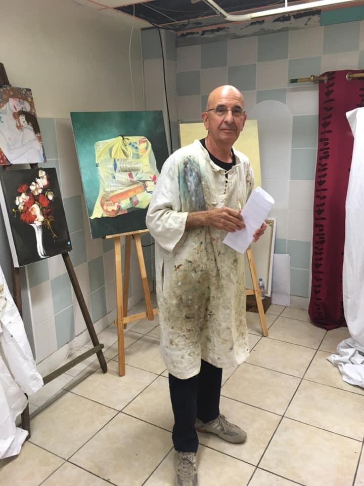 Expo de l'atelier peinture