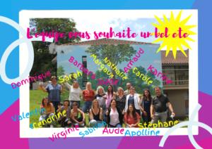 Read more about the article L'équipe vous souhaite un bel été