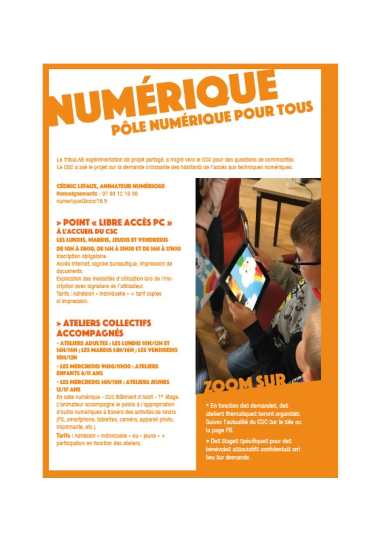 Read more about the article Pôle Numérique: atelier découverte pour enfants