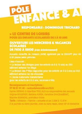 """Read more about the article Pôle enfance: activités """"découverte"""" les mercredis"""